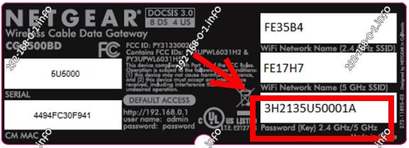 как найти пароль wifi на роутере