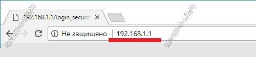 192.168.1.1 вход на роутер