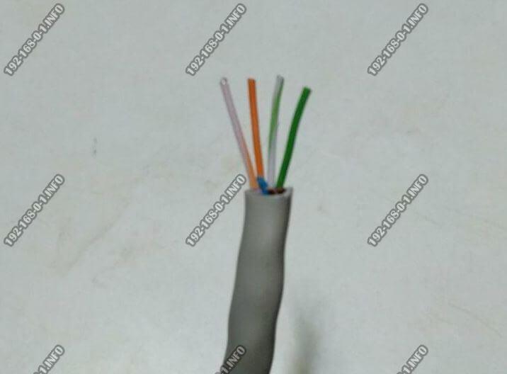 как правильно обжать кабель 4 жилы витая пара патч-корд