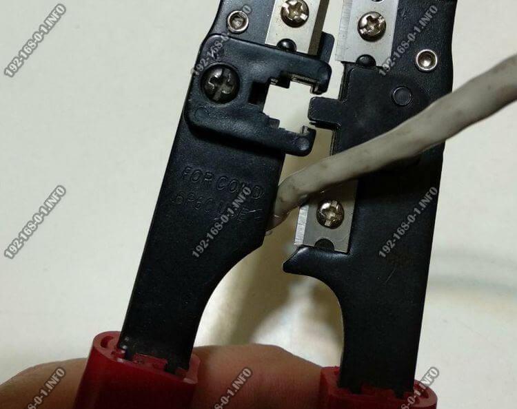 Как правильно обжать интернет кабель витая пара