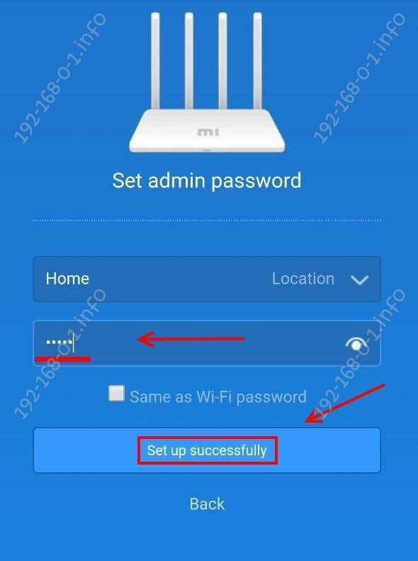 пароль администратора на роутере сяоми ми вай-фай 3