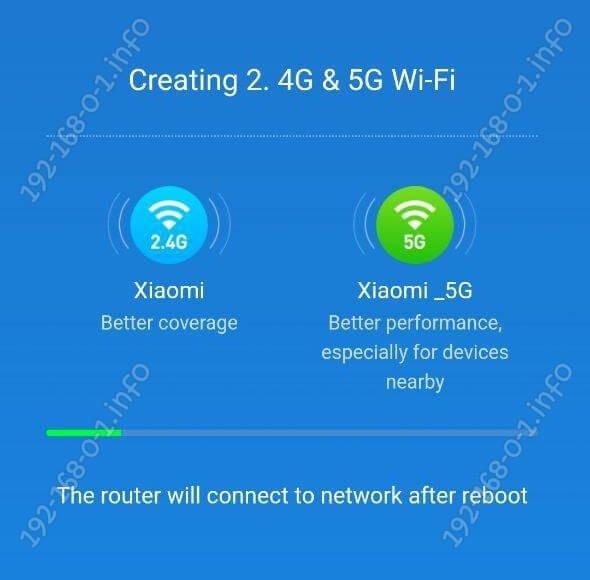 creating 2,4G 5G wifi
