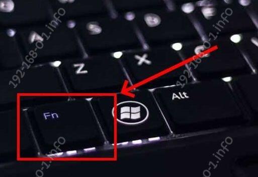 кнопка fn на клавиатуре ноута