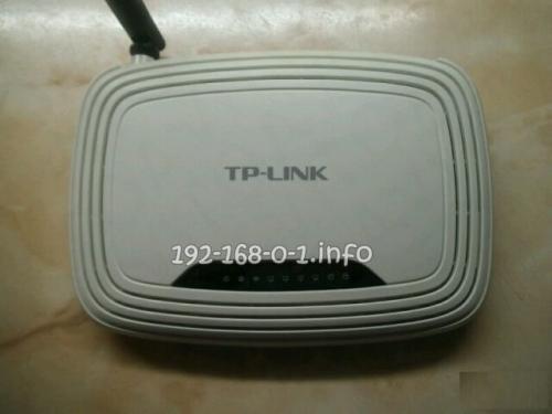 Настройка tp-link tl-wr740n